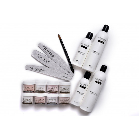 Superstruct Acrylics Powder Crystal Clear