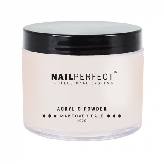 Acrylic Powder Makeover Pale